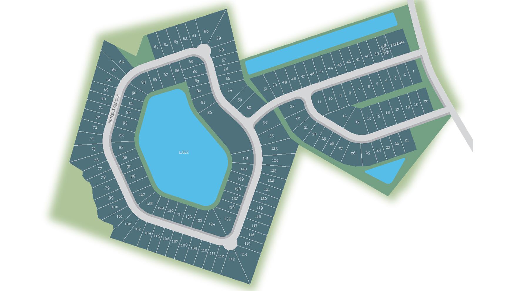 Wren Bay Site Plan