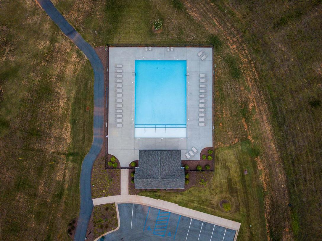 Jones Mill Crossing community pool for residents