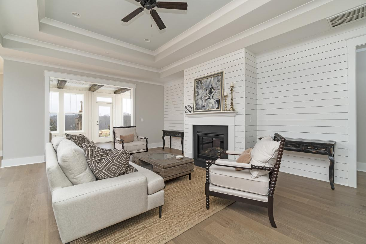 Open concept great rooms with access to optional sunrooms for additional living and entertainment