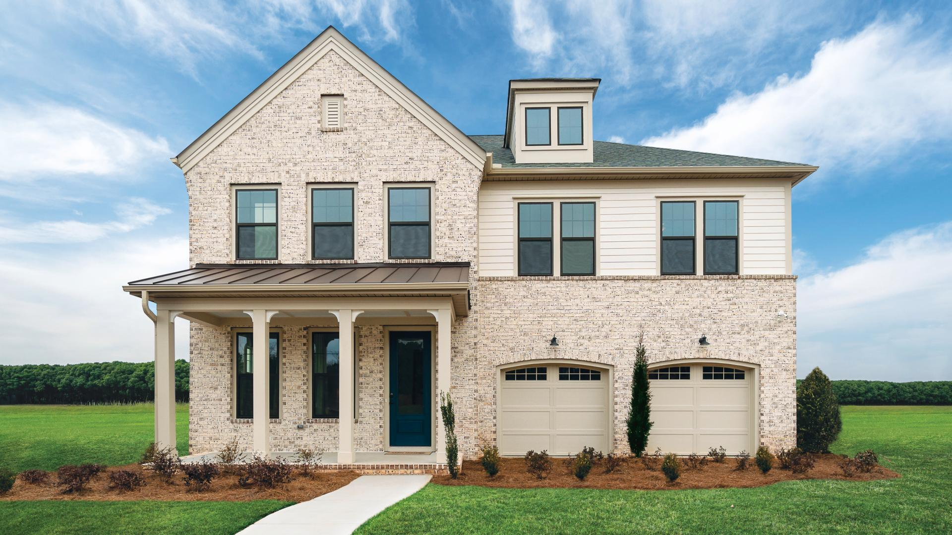 Beautiful architecture style with covered front porches