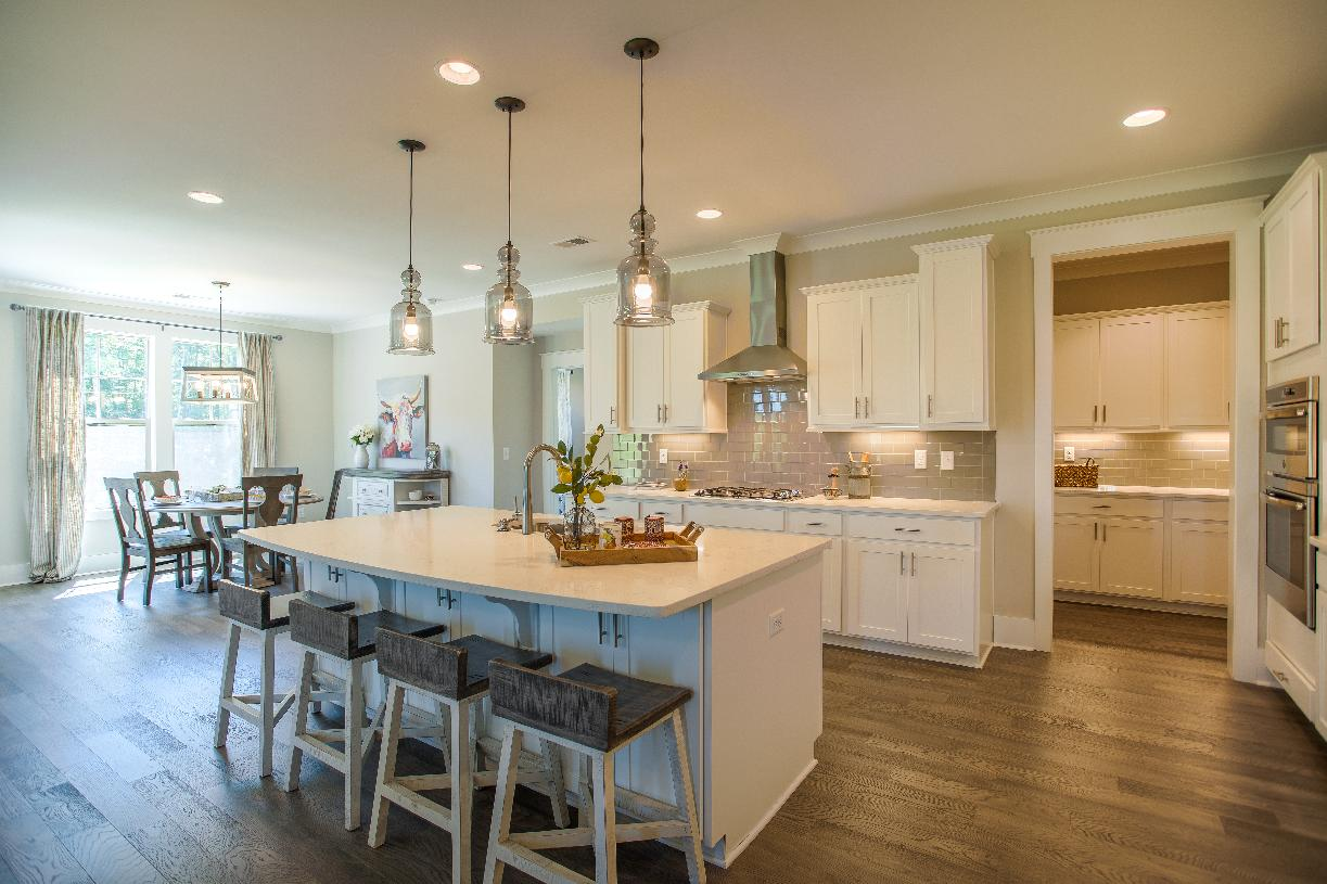 Well-equipped kitchen with ample countertop and cabinet space