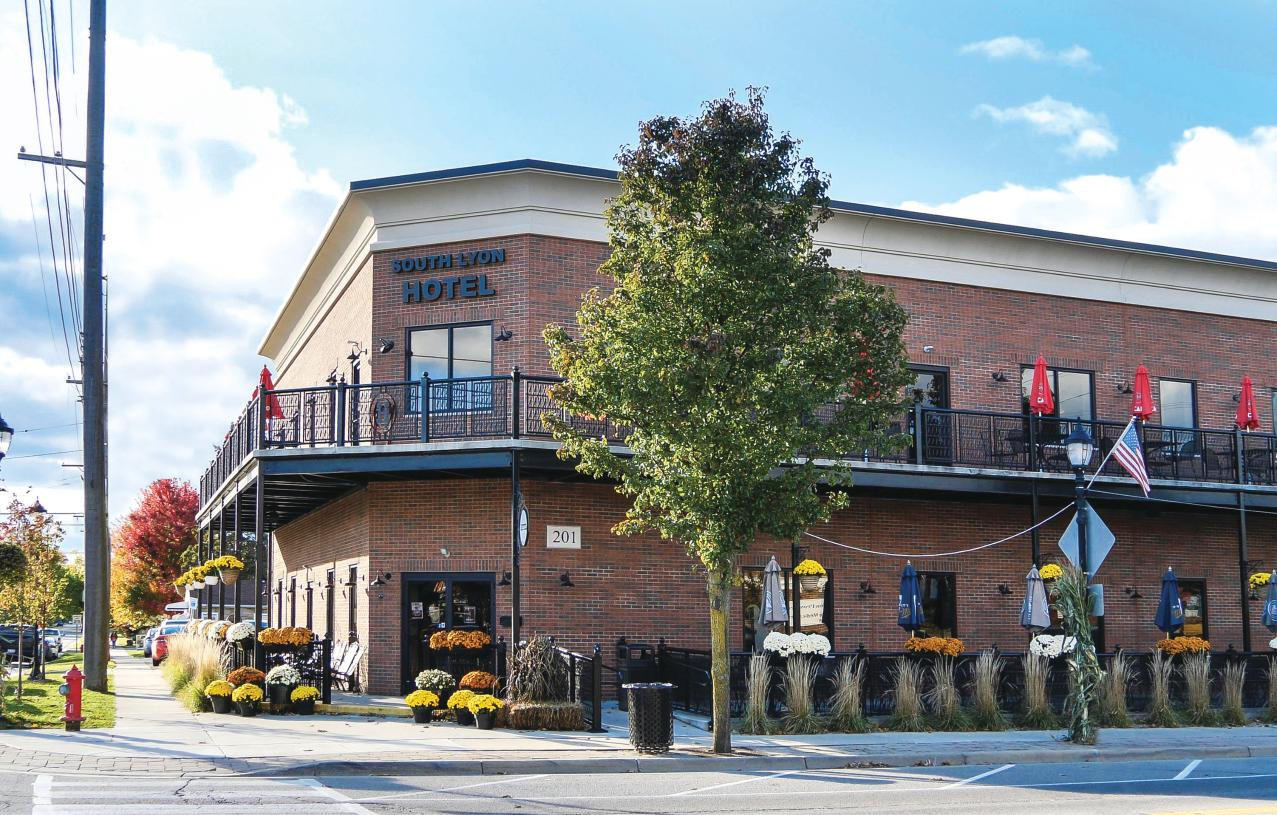 Minutes to downtown South Lyon featuring charming boutiques, everyday services, dining, and entertainment