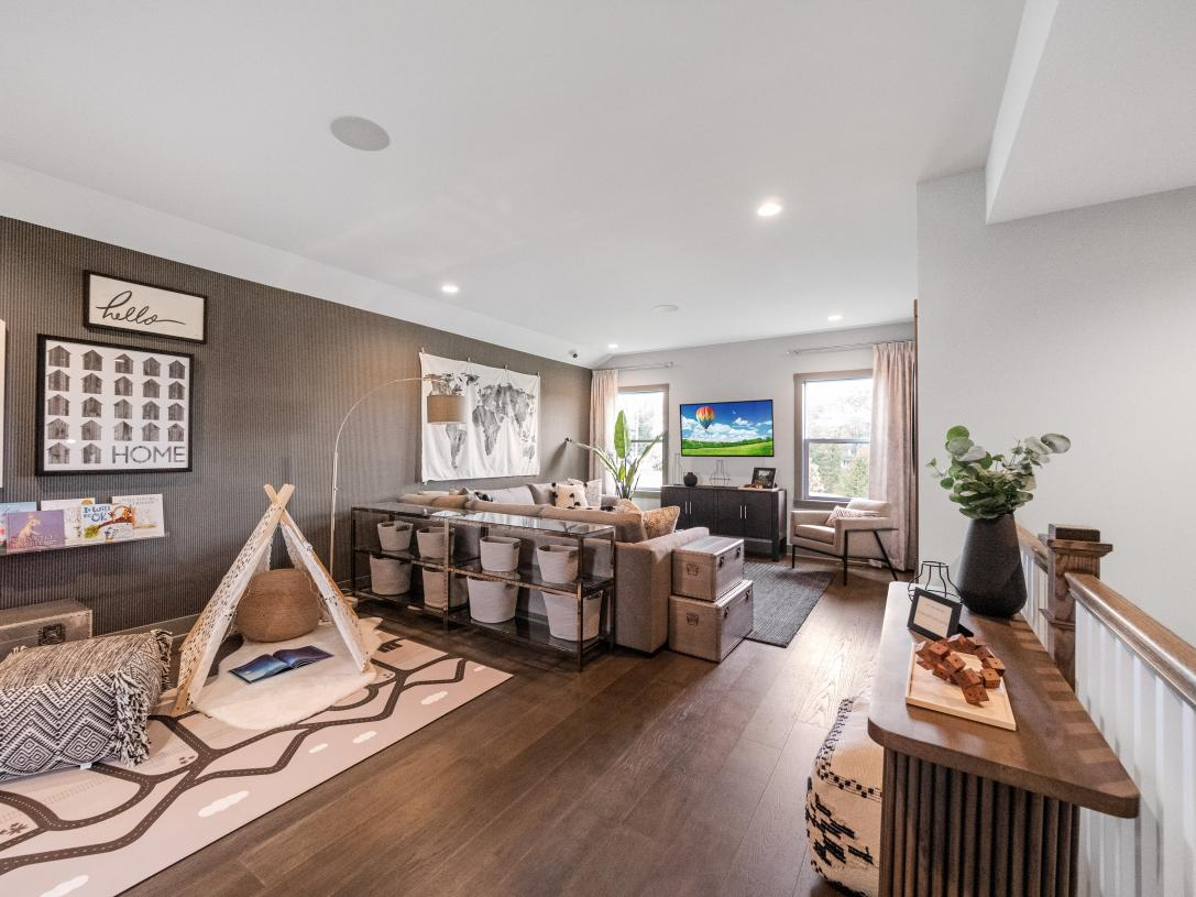 Amazing loft space available with the Alternate Second Floor option
