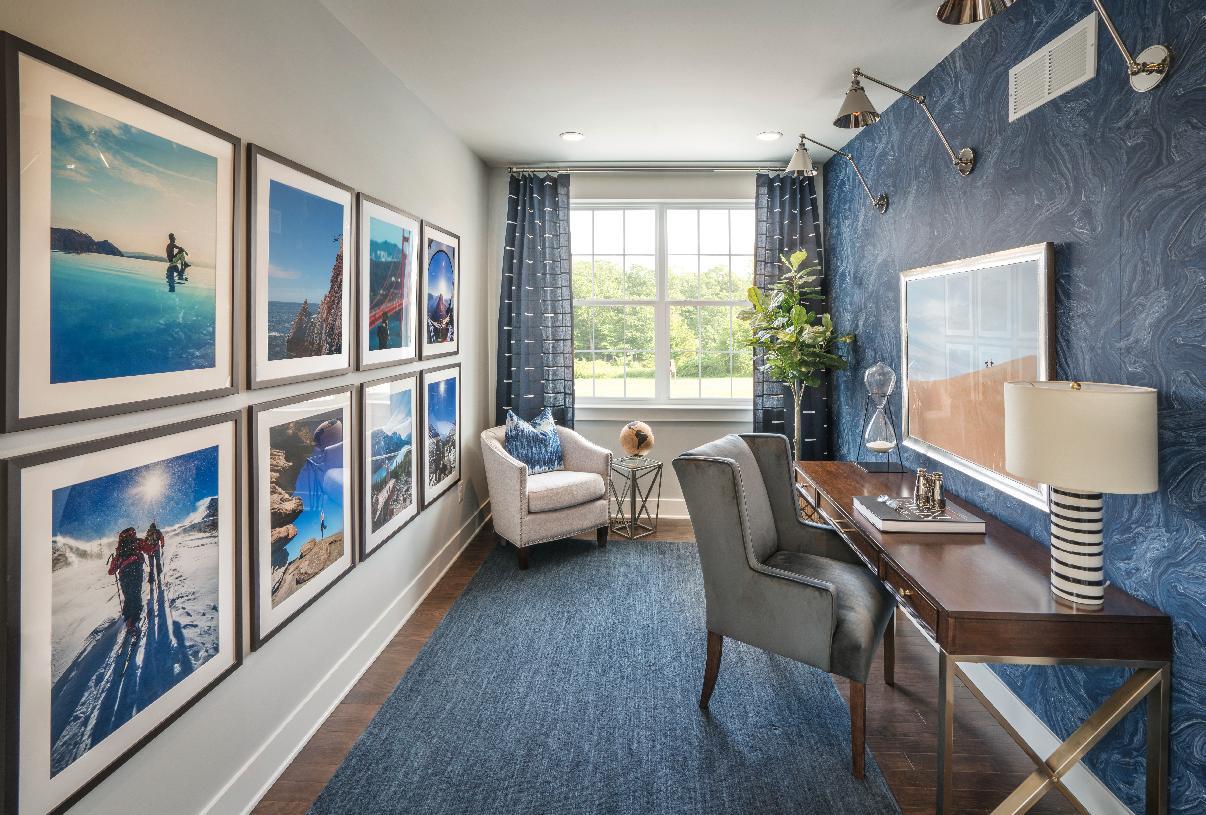 Flexible living spaces for exercise, work or school – Representative photo