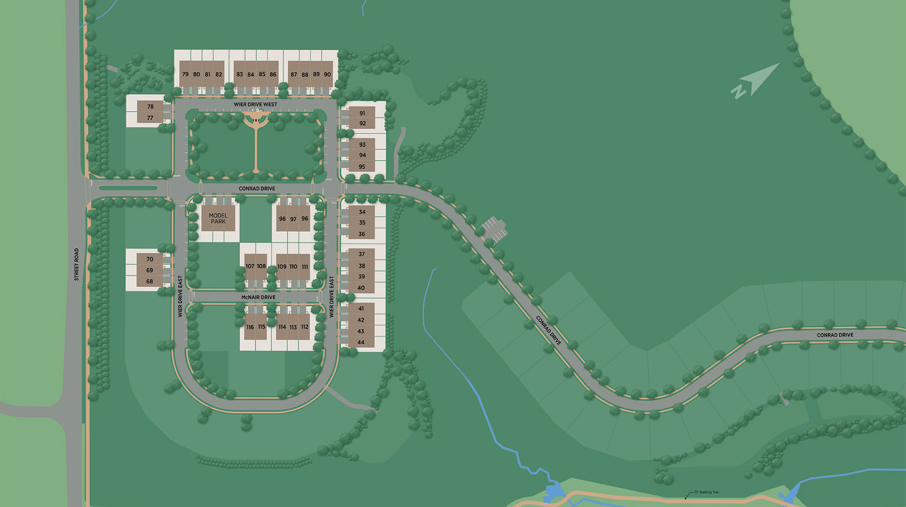 Reserve at Emerson Farm - Carriage Collection Site Plan