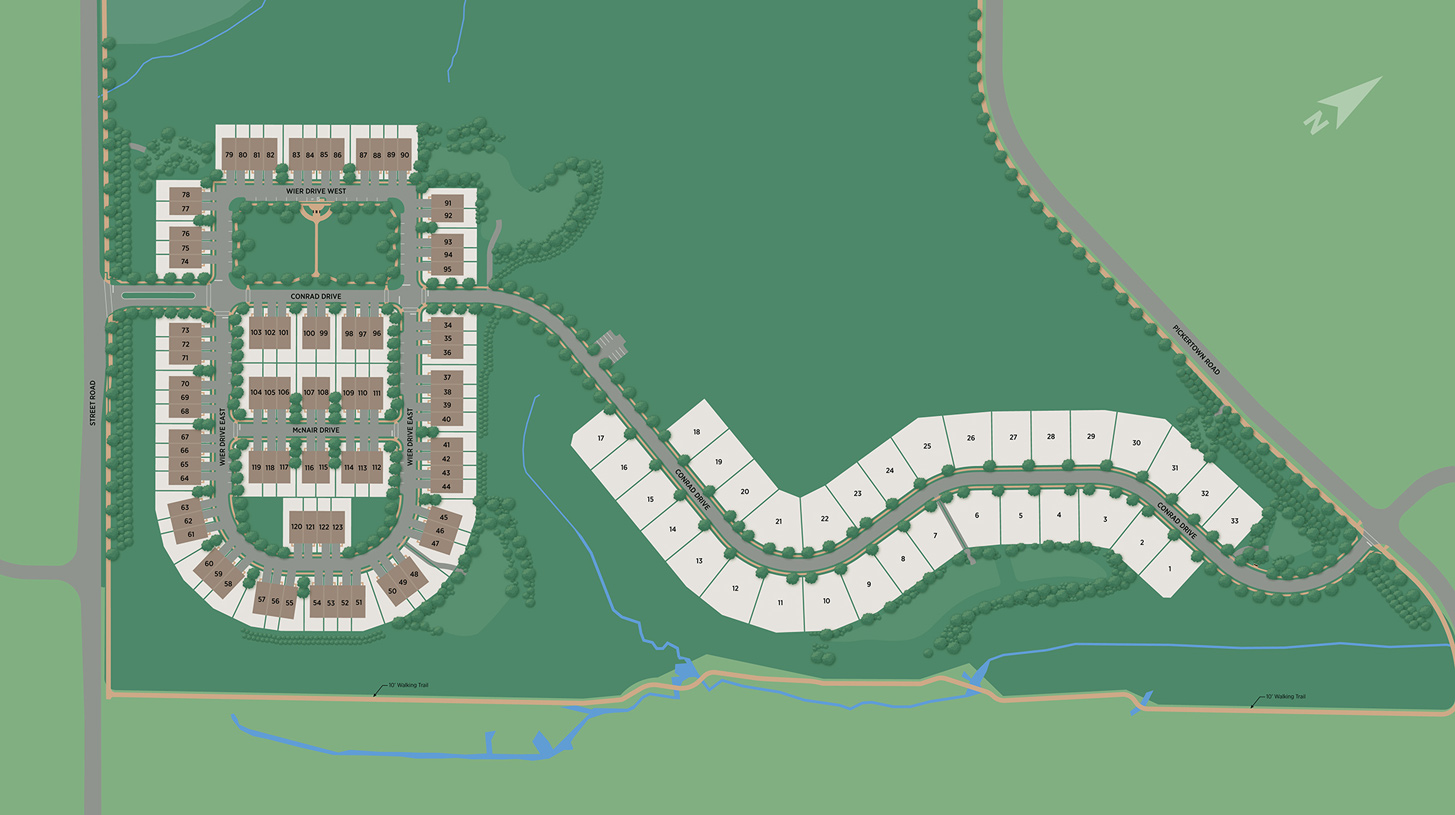 Reserve at Emerson Farm Overall Site Plan