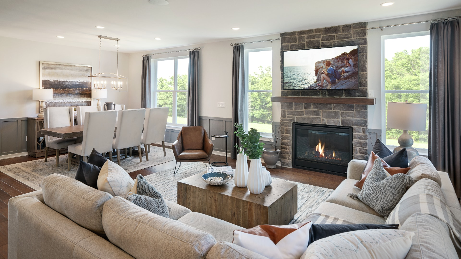 Home designs with over 2,100 square feet of living area