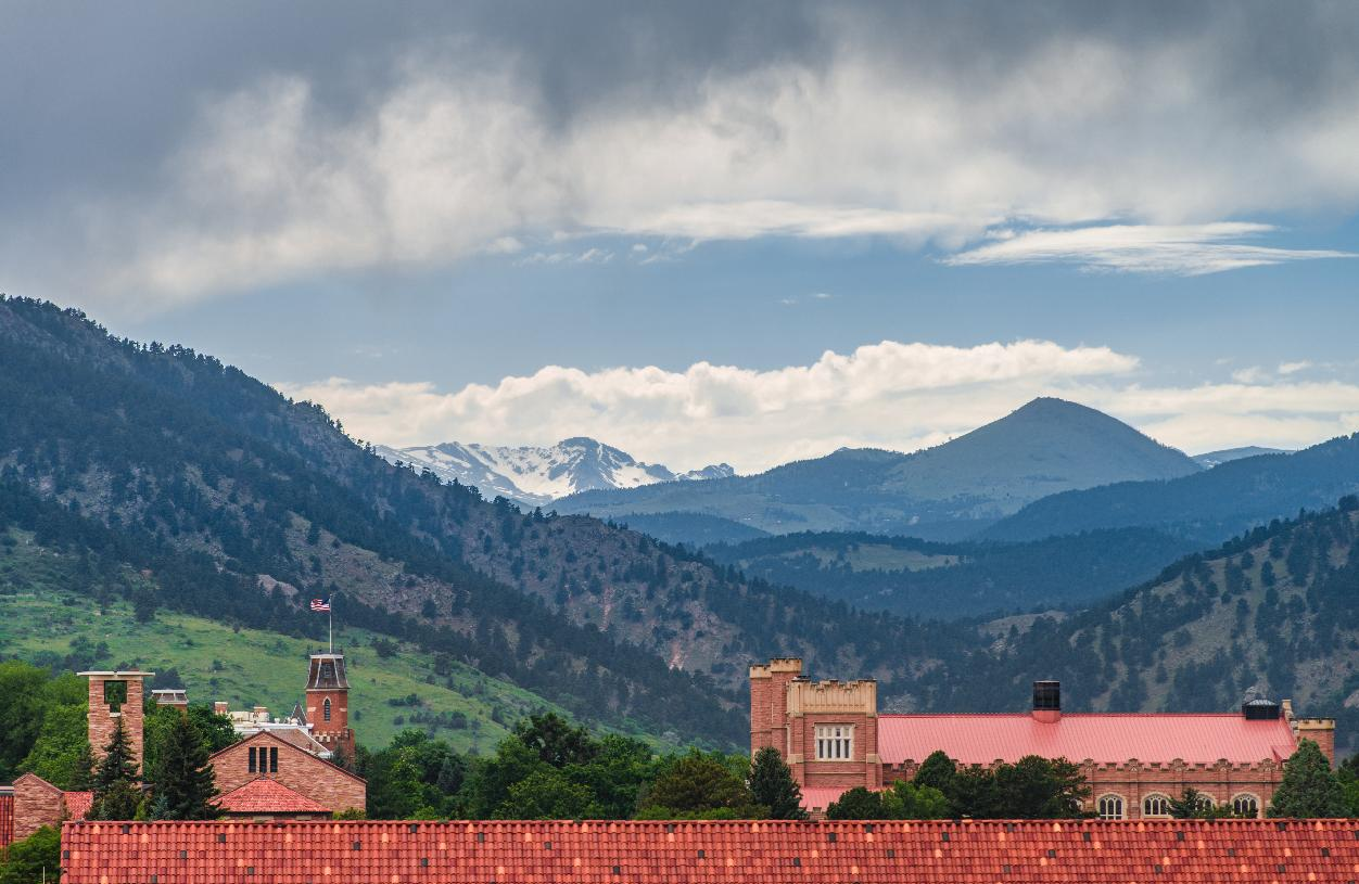 Ten minutes to Boulder and University of Colorado at Boulder