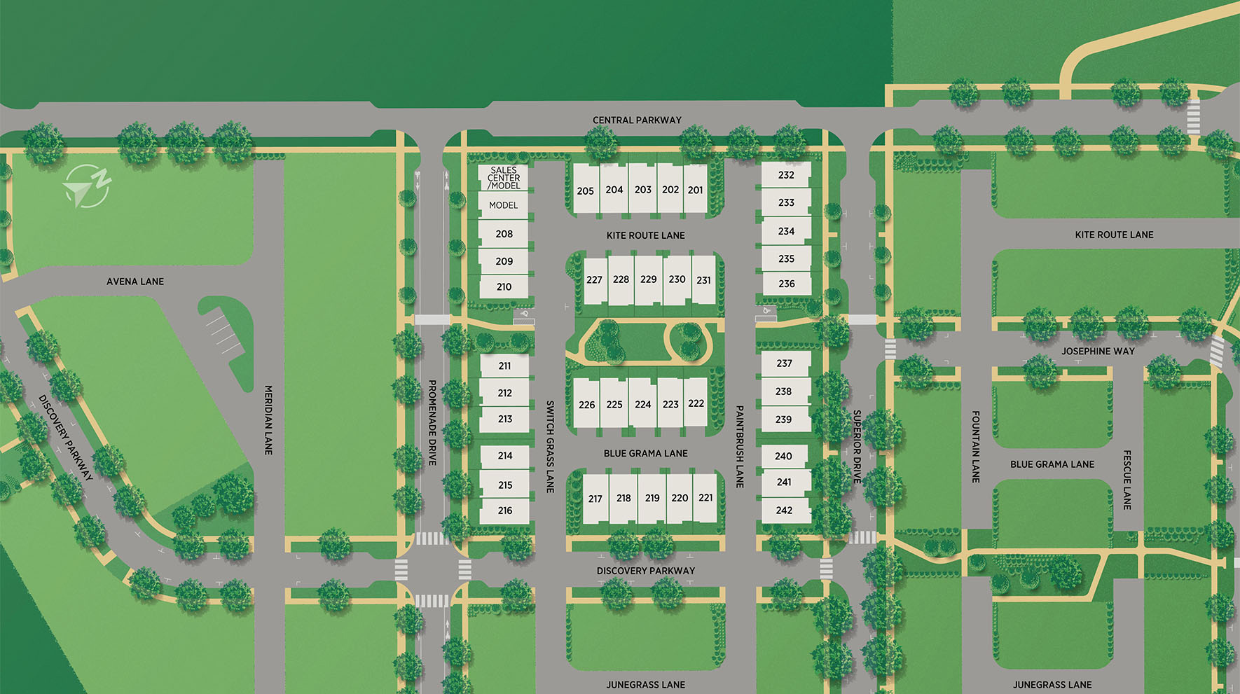 Heights at Downtown Superior Site Plan