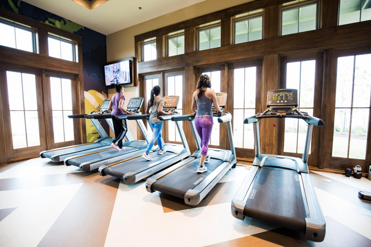 State-of-the-art Sawmill Lakes Club fitness center offers many classes year-round