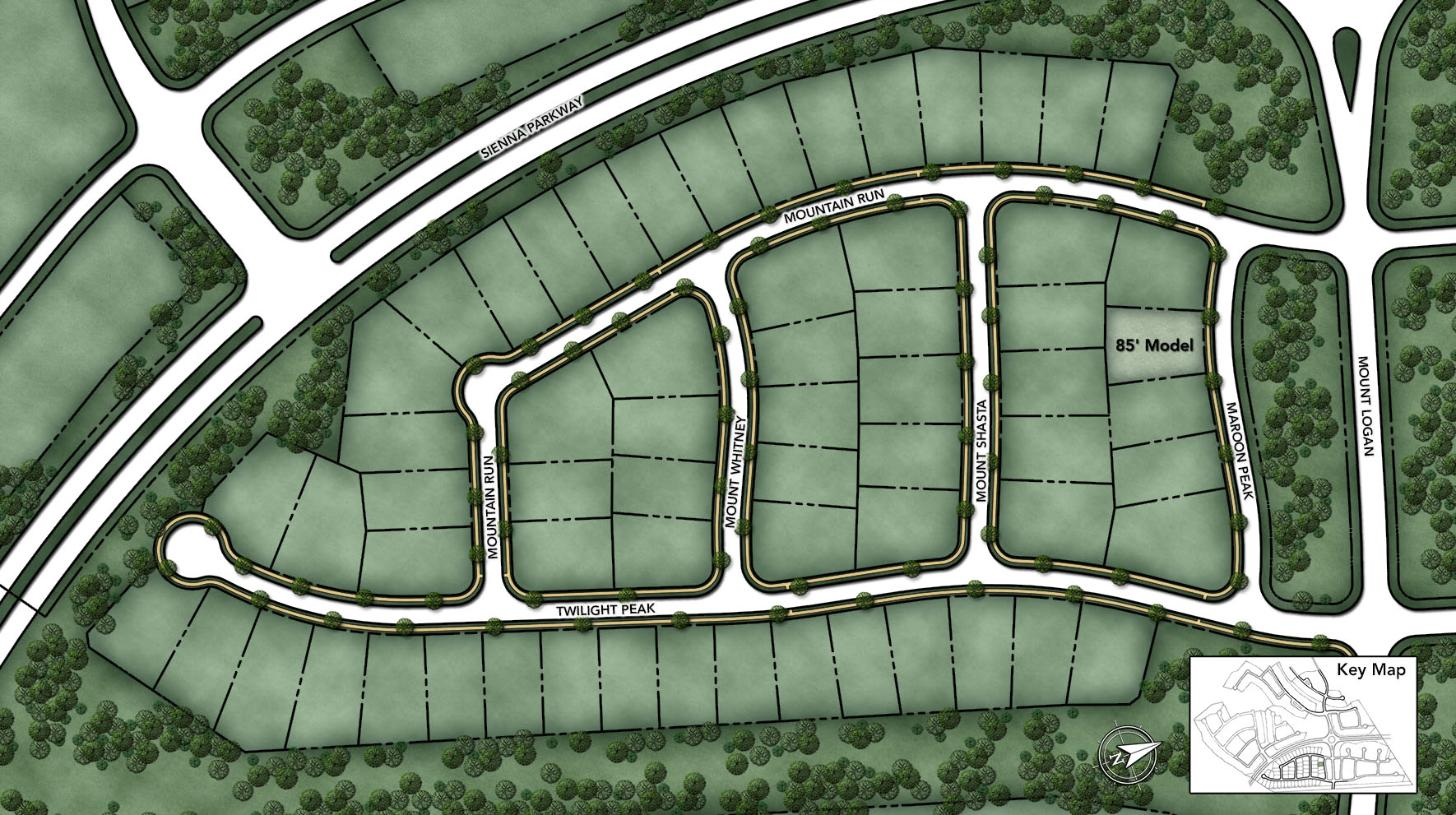 Sienna - Executive Collection Site Plan I