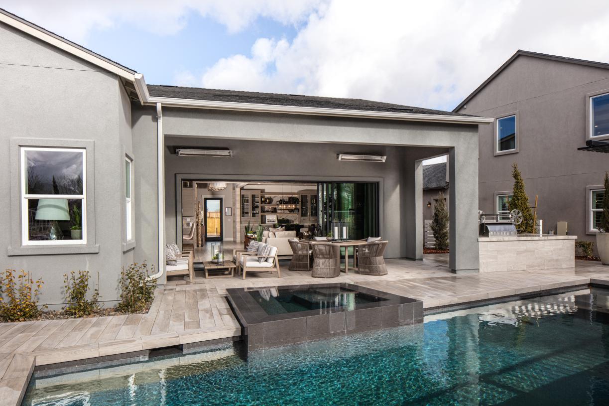 Backyard retreat with pool