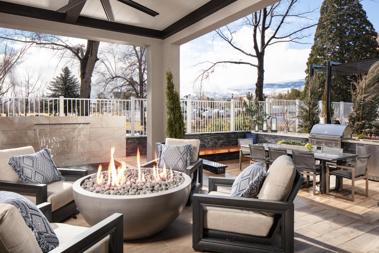 Enjoy outdoor living at Cantaro