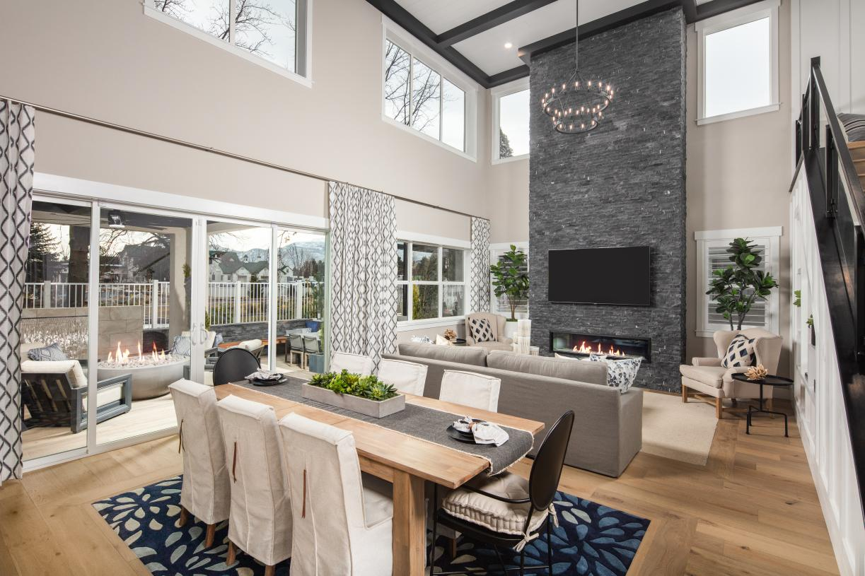 The Essex Elite offers a spacious open floor plan