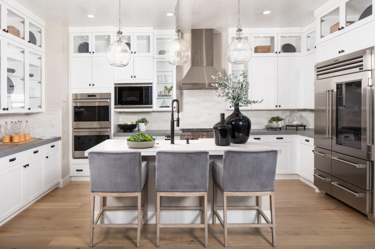 Entertain and gather in your gourmet kitchen