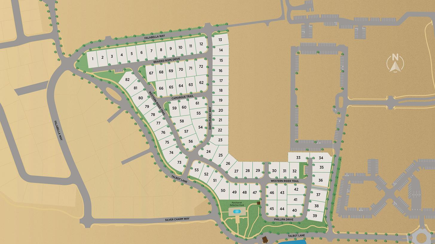 Cantaro at Rancharrah Overall Site Plan