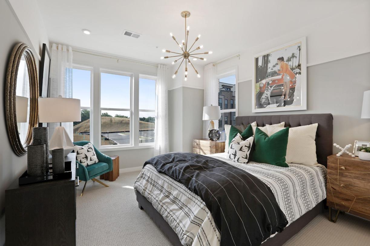 Beautiful secondary bedrooms
