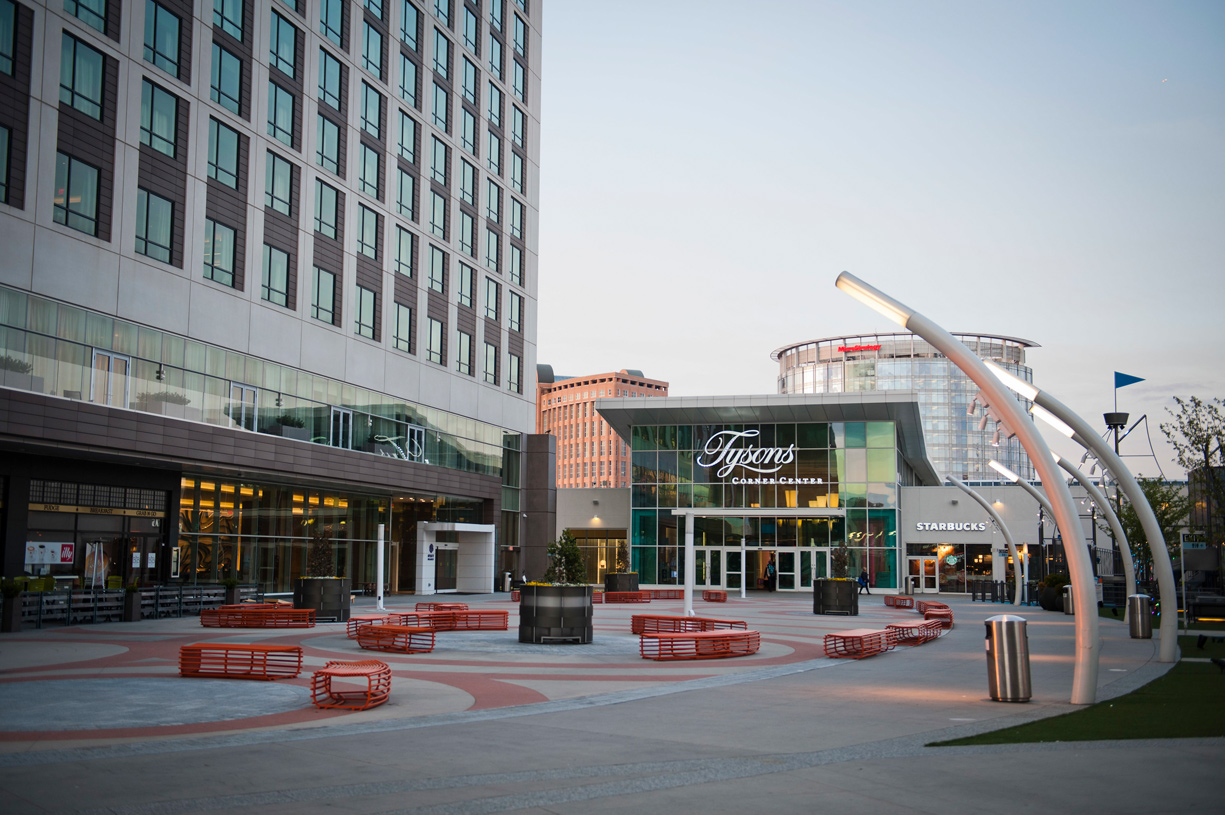 Exceptional high-end shopping at nearby Tysons Corner and Tysons Galleria