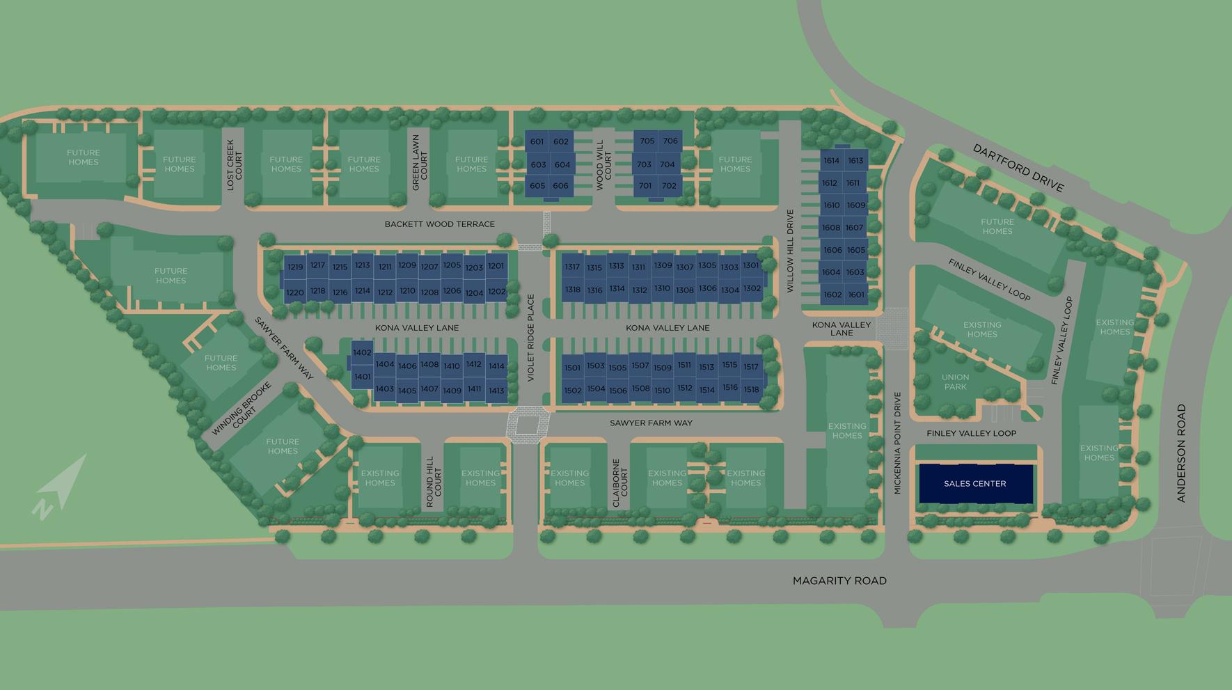 Union Park at McLean - The Lofts Site Plan