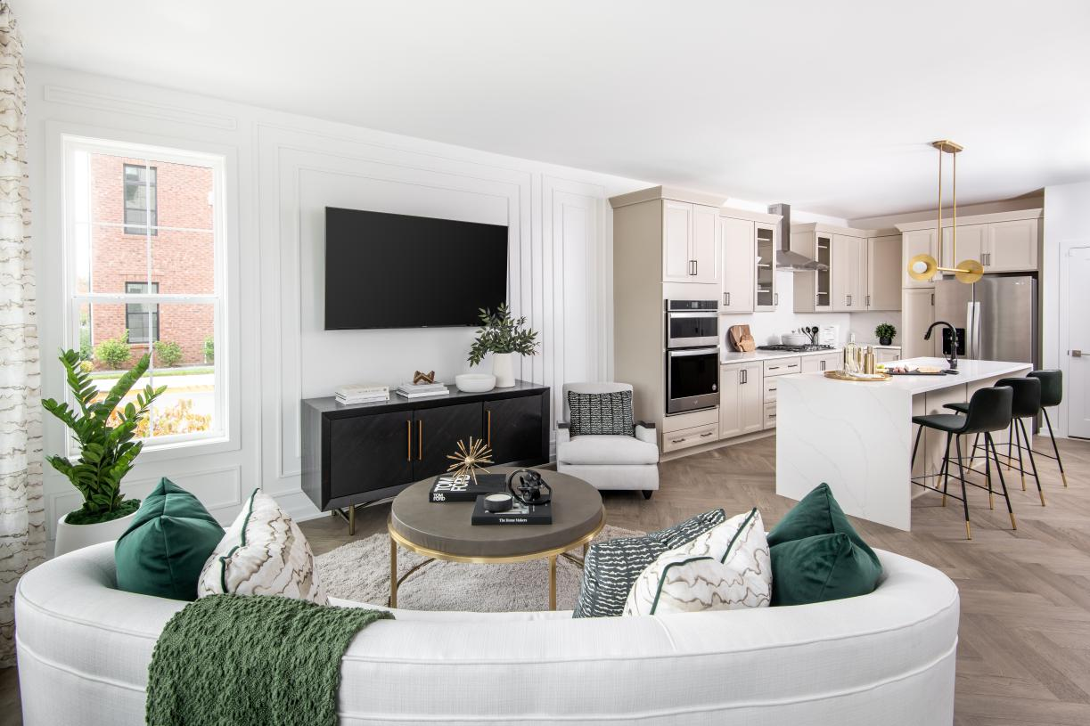 Open-concept living level, perfect for the every day and entertaining