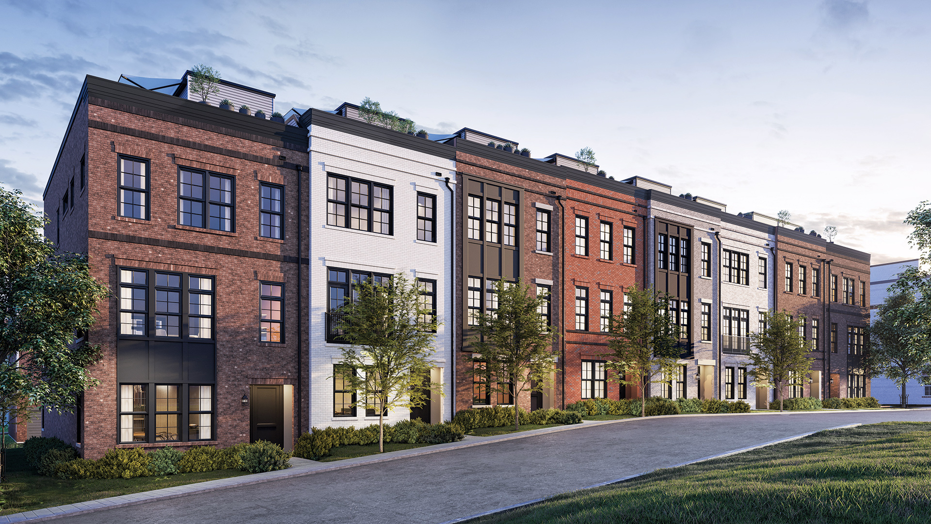 Union Park at McLean - The Brownstones
