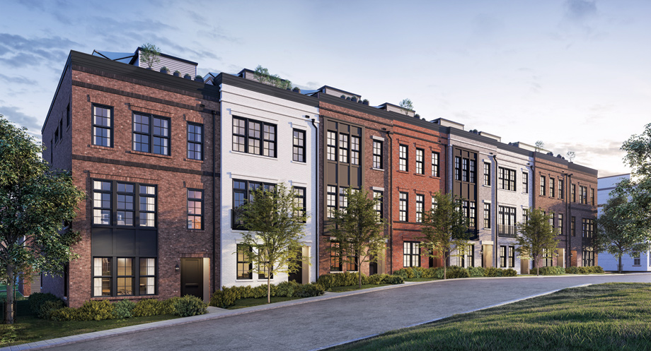 Toll Brothers - Union Park at McLean - The Brownstones Photo