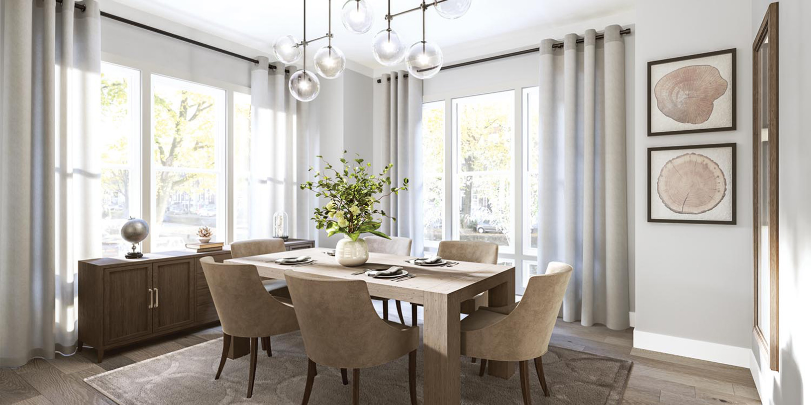 Exceptional dining rooms perfect for entertaining