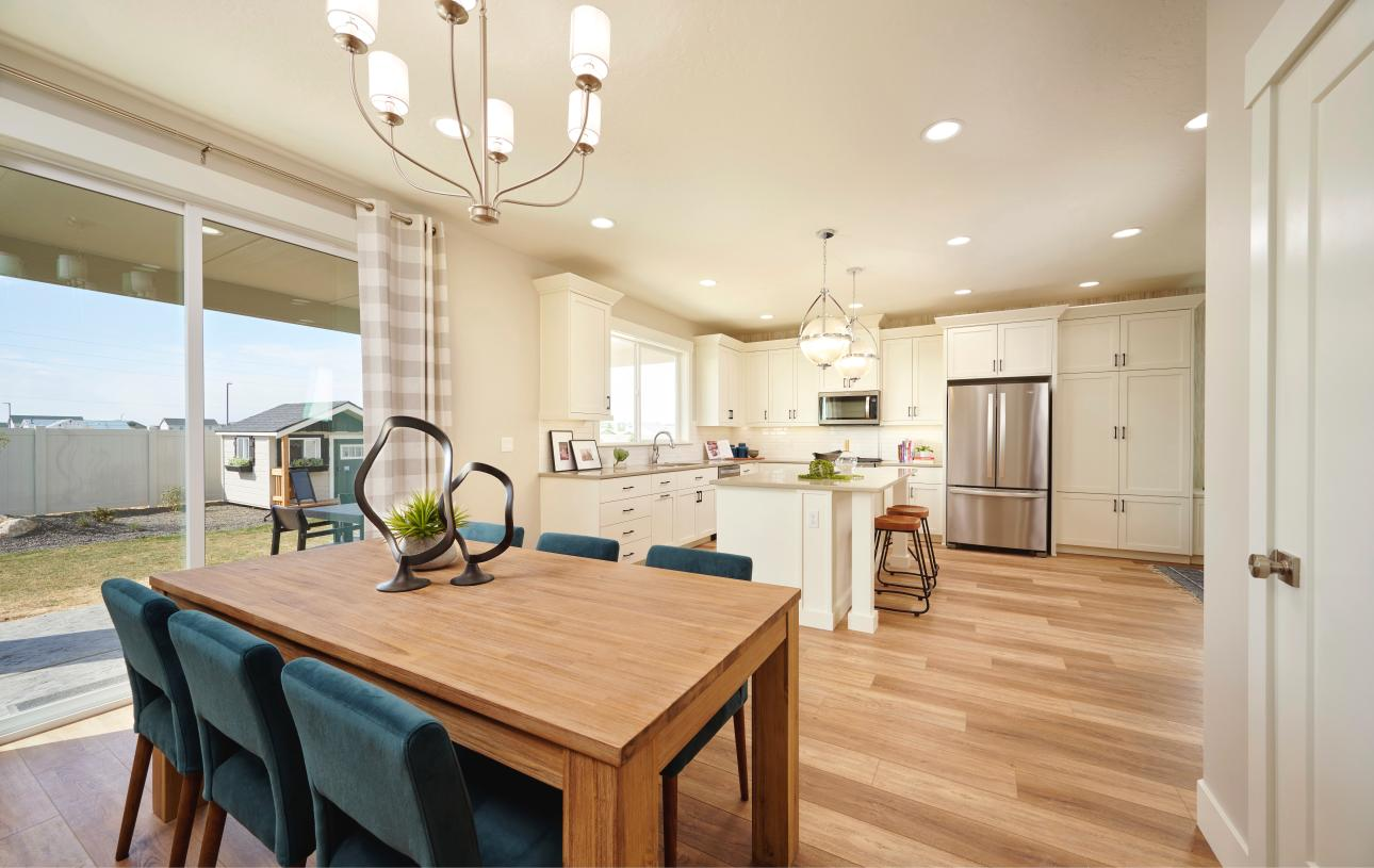 Formal dining space for entertaining