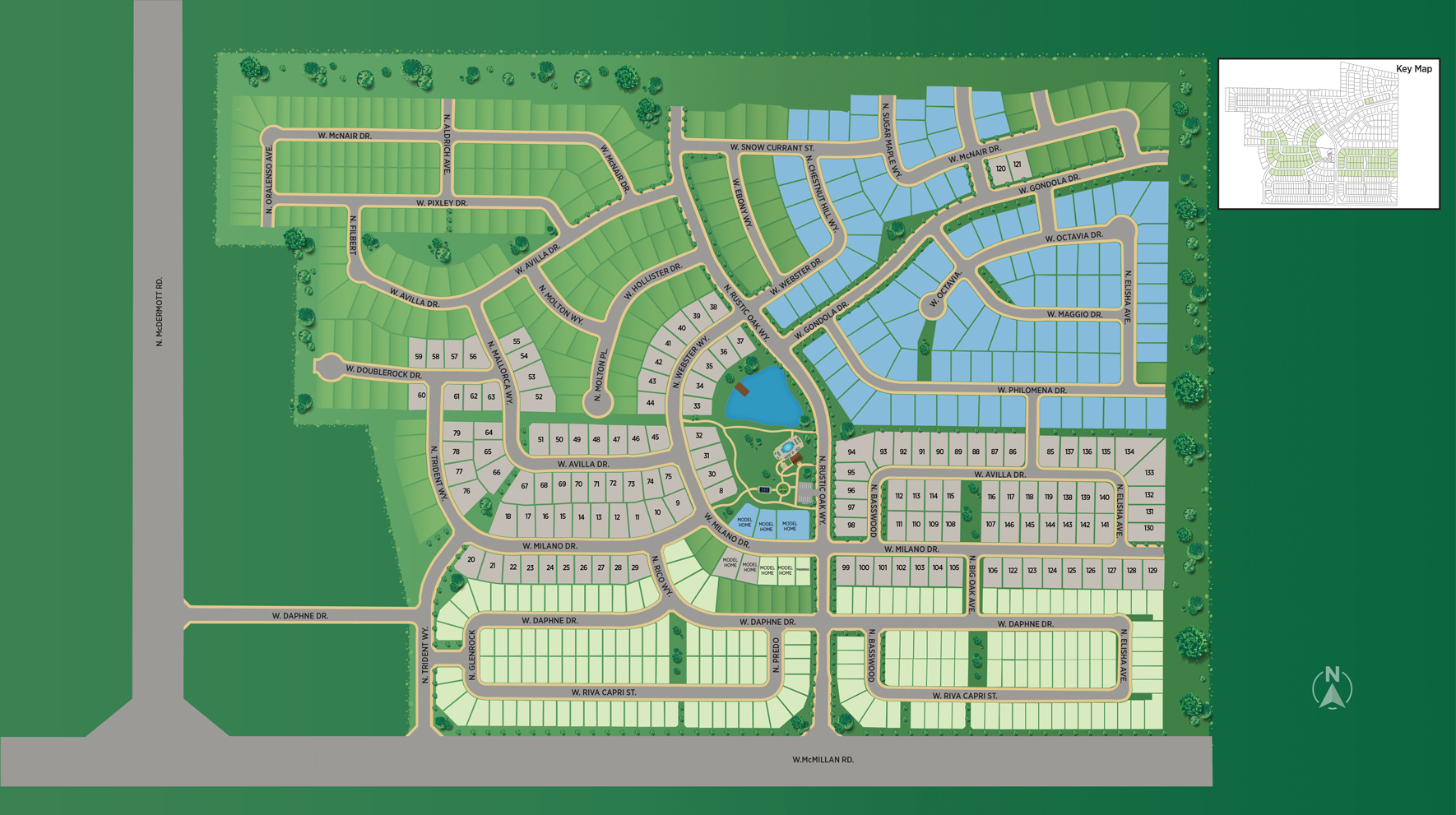 The Oaks North - Woodland Site Plan