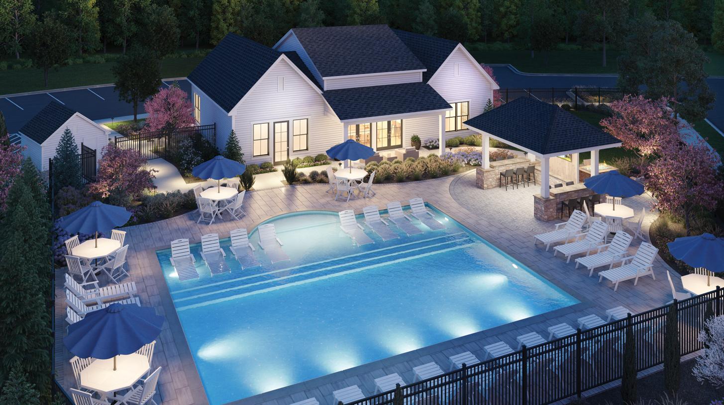 Residents will enjoy resort-style amenities