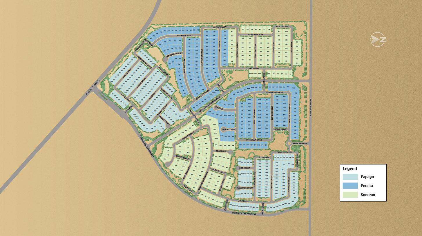 Preserve at San Tan Overall Site Plan