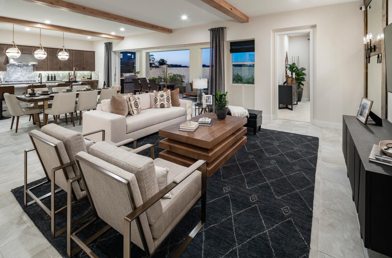 Spacious open concept floor plan ideal for entertaining