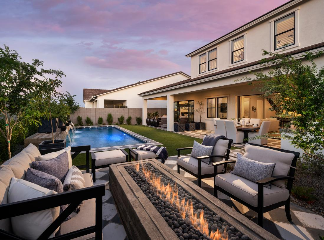 Stunning backyards for outdoor living and entertaining
