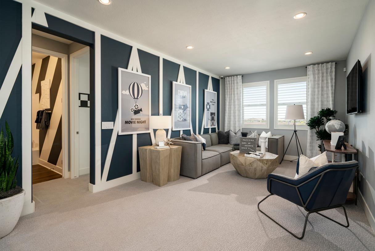 Versatile second floor loft with endless possibilities