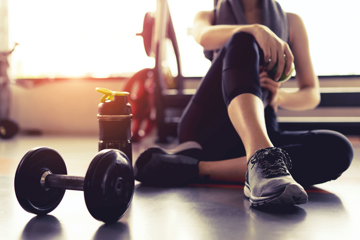 Break a sweat at your community fitness center