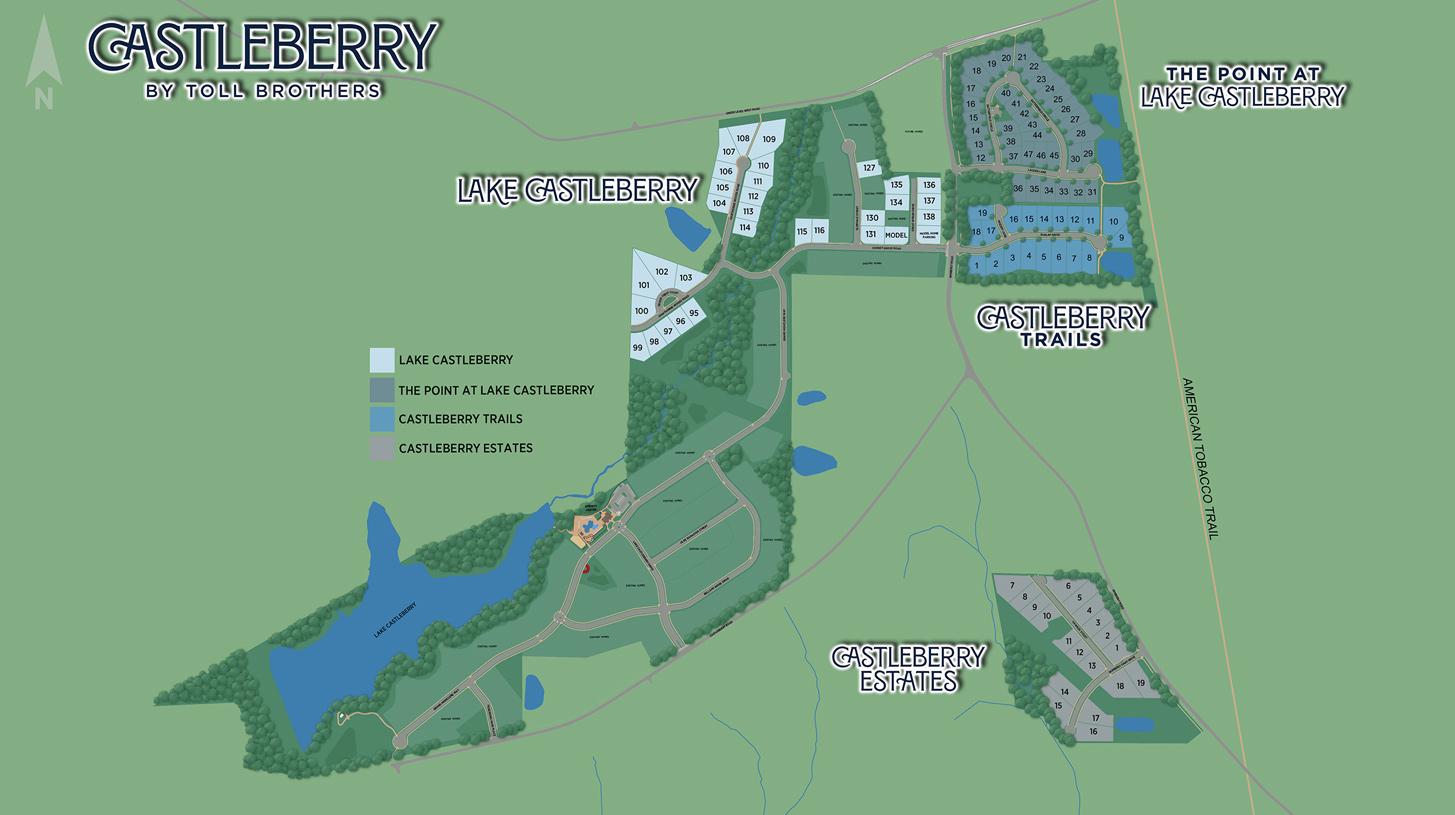 Castleberry Overall Site Plan