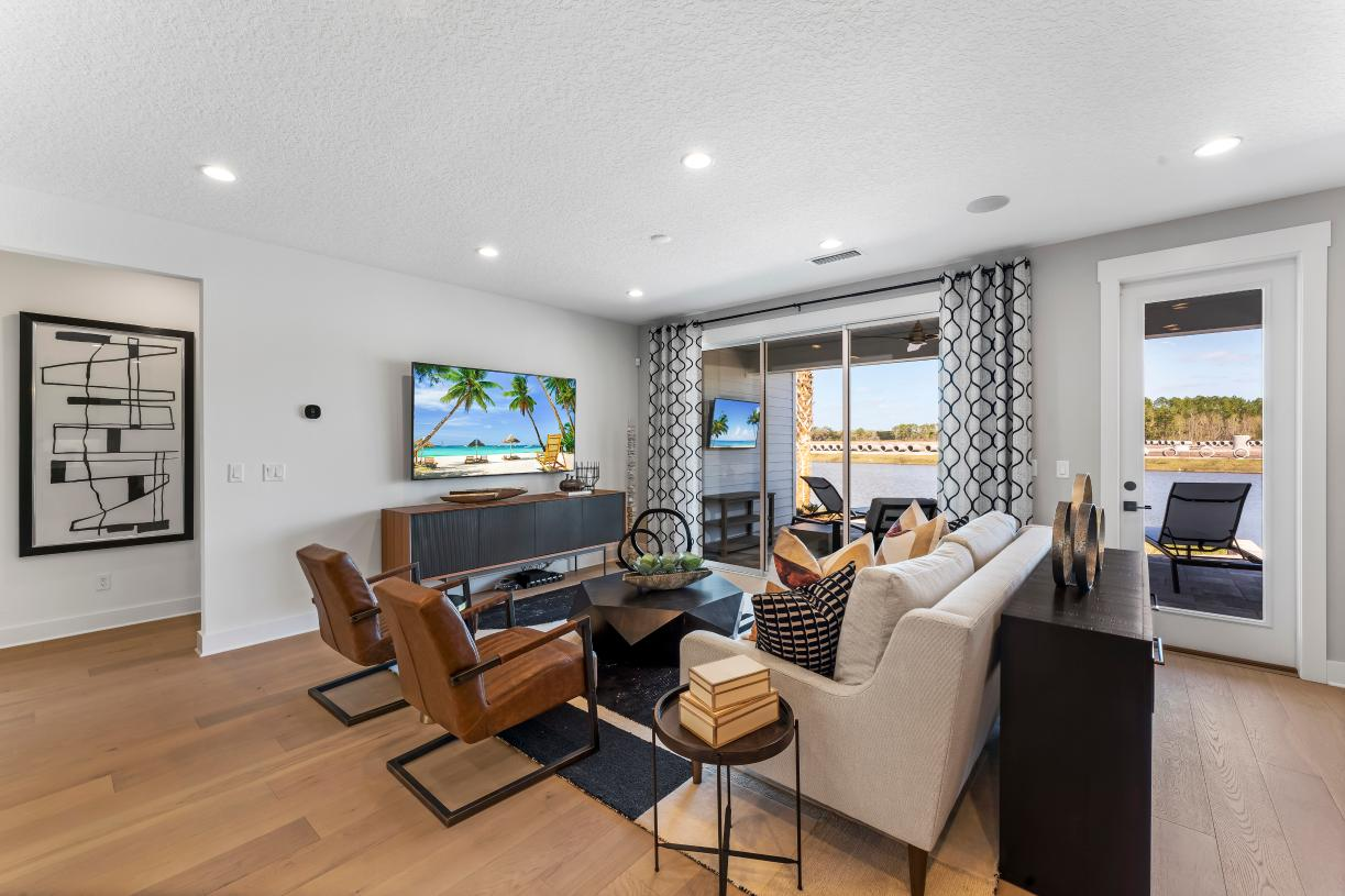 Great room to covered lanai