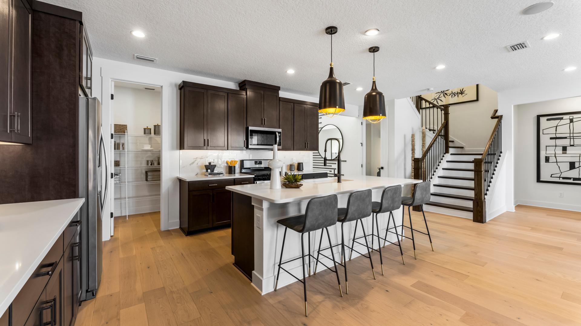 Spacious kitchen perfect for entertaining