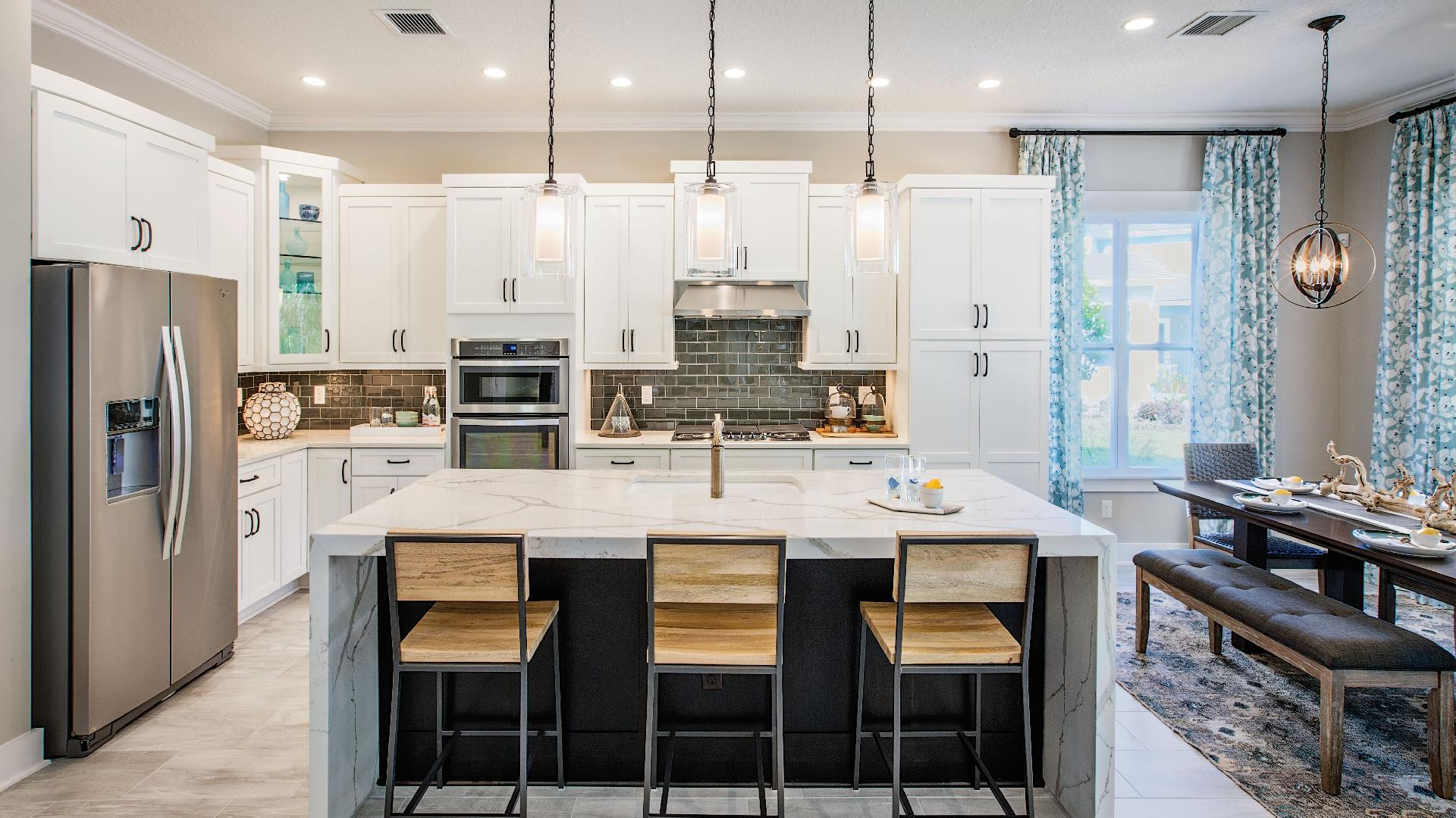 Kitchens made for entertaining