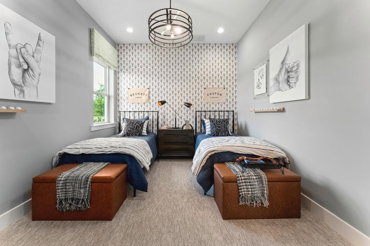 Bedrooms to fit all lifestyles