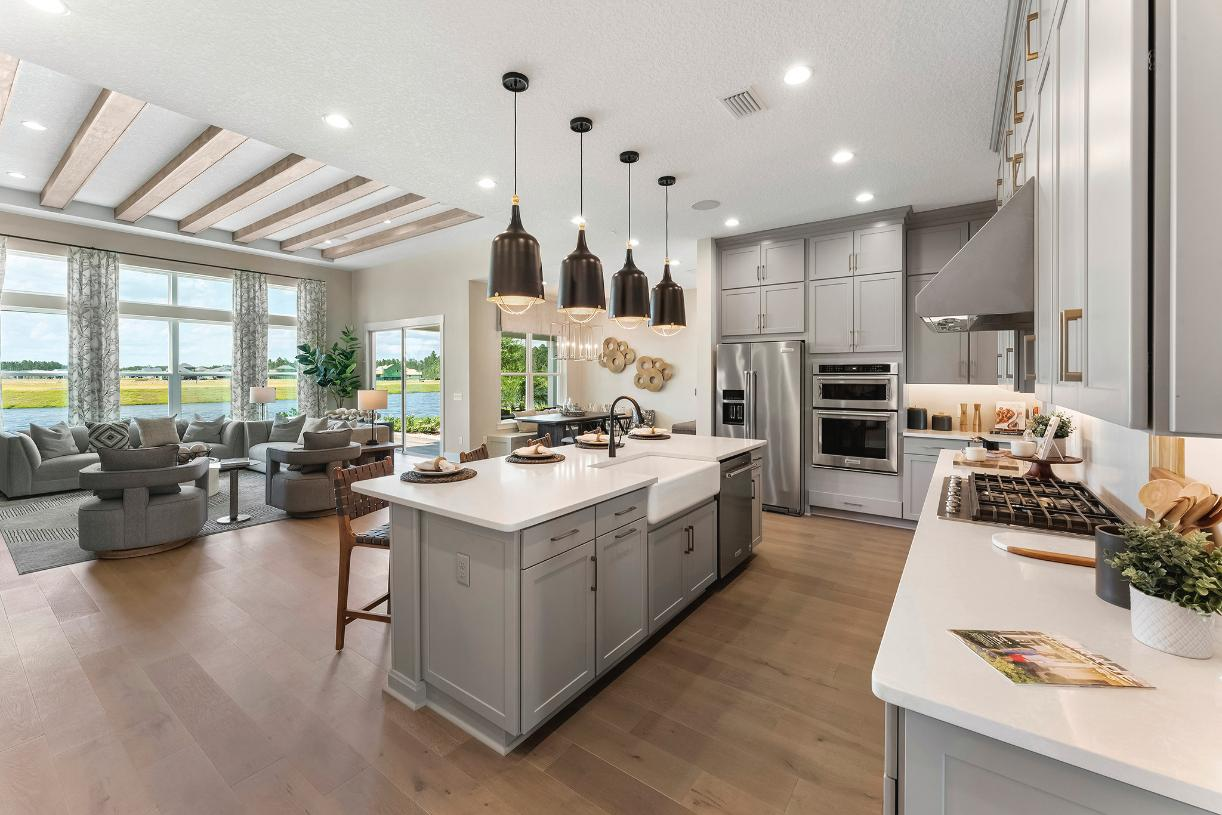 Open living perfect for entertaining