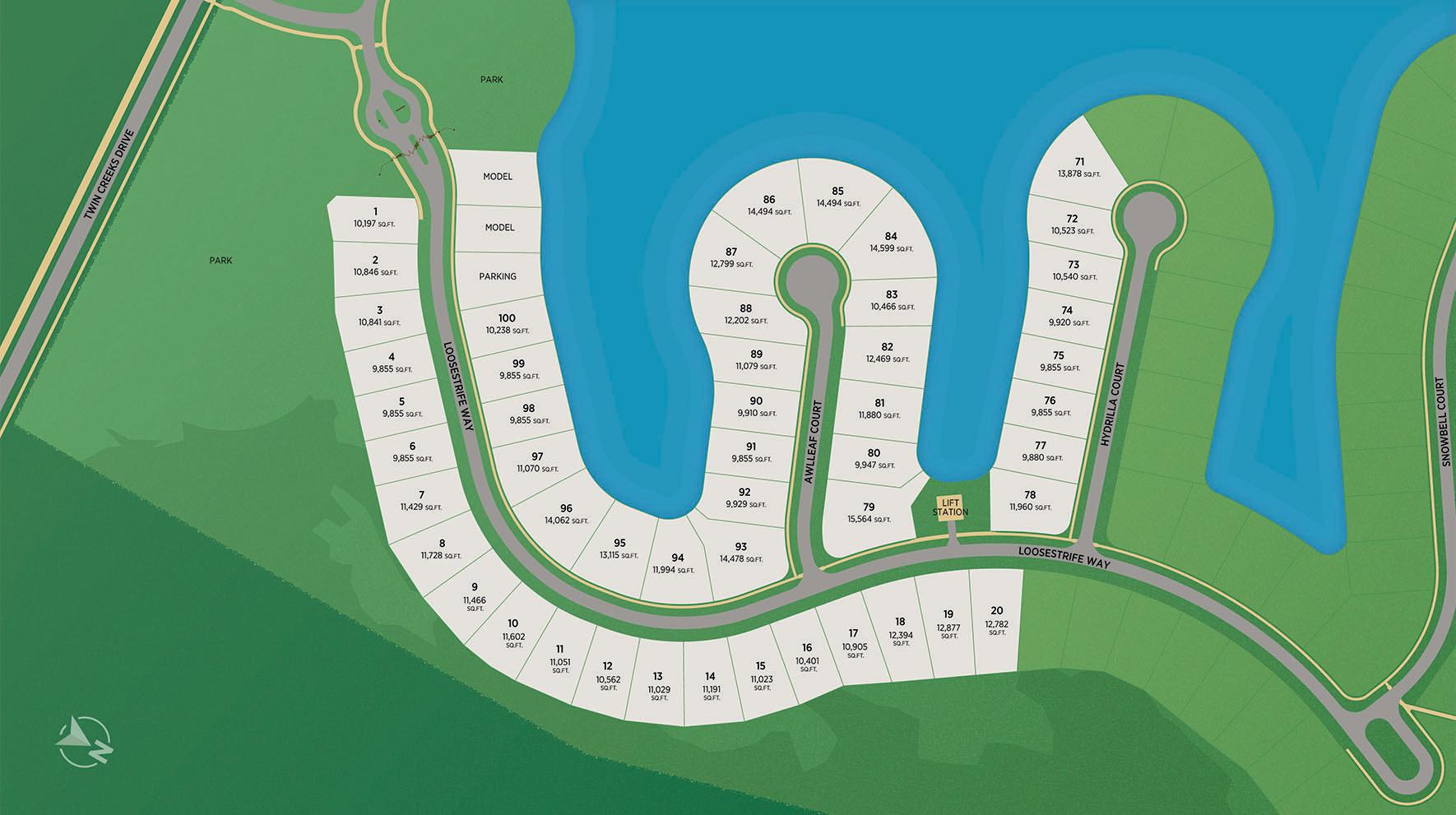 The Landing at Beacon Lake Site Plan I