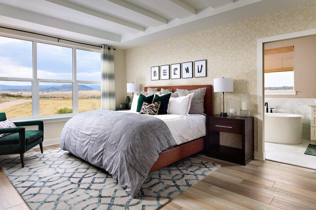 Lathrop luxurious primary bedroom