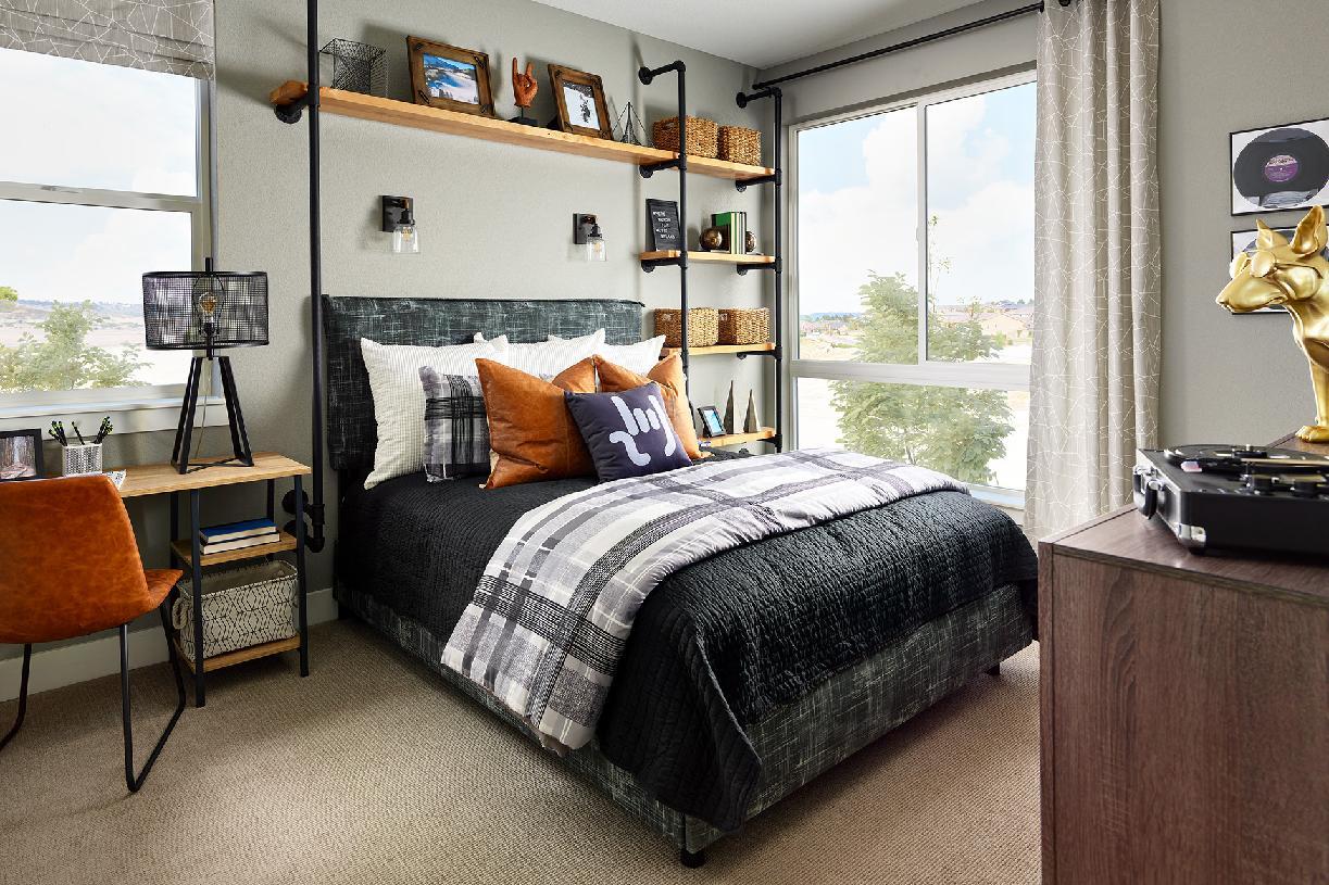 Lathrop secondary bedroom
