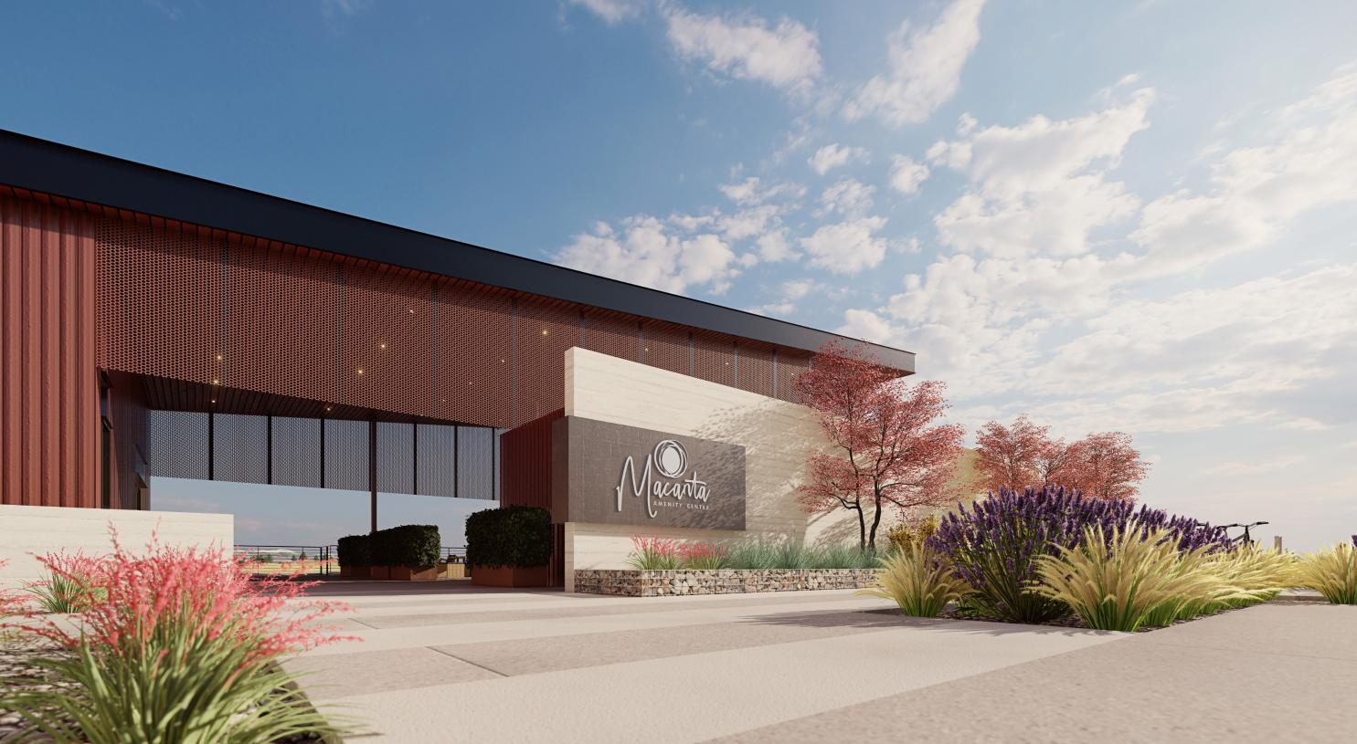 The Spoke Amenity Center promises to be the center of community life