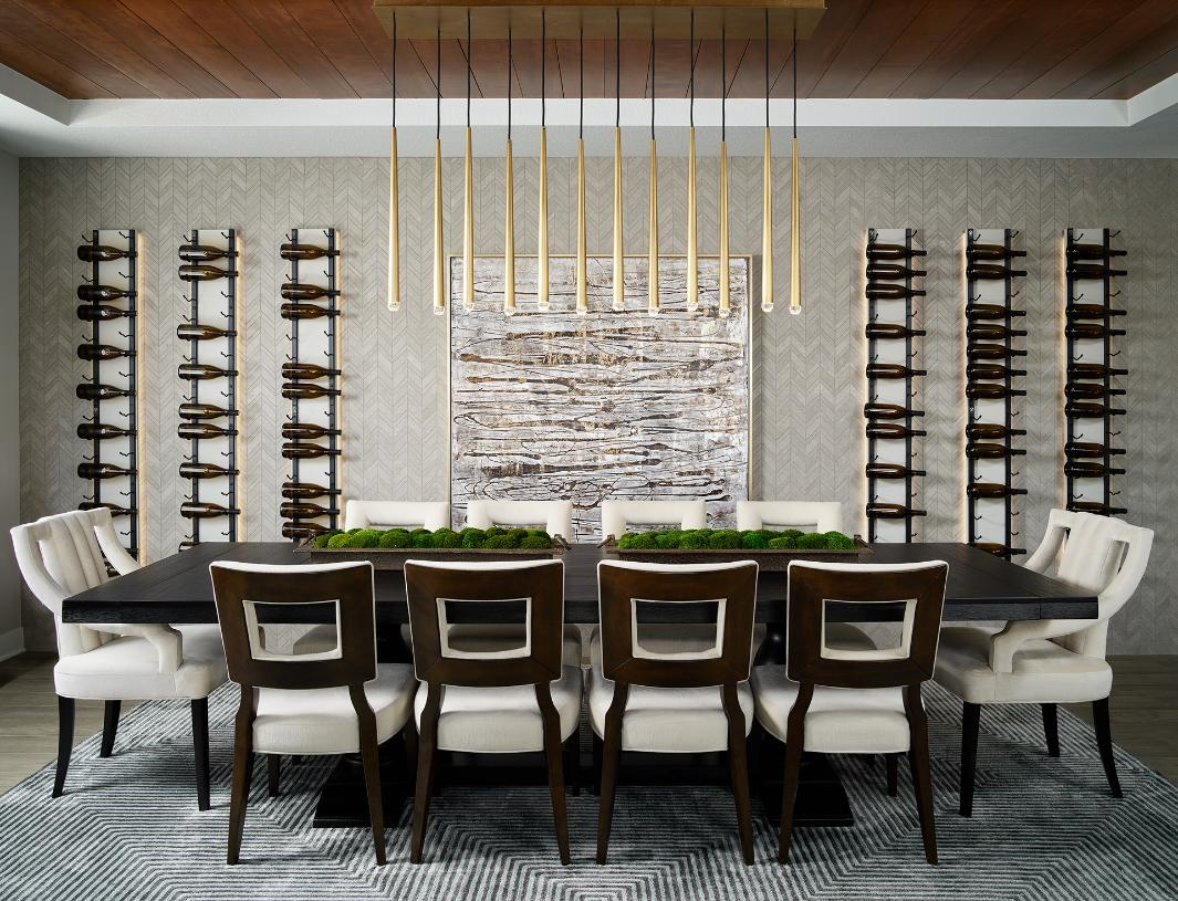 Shavano formal dining room with seating for ten