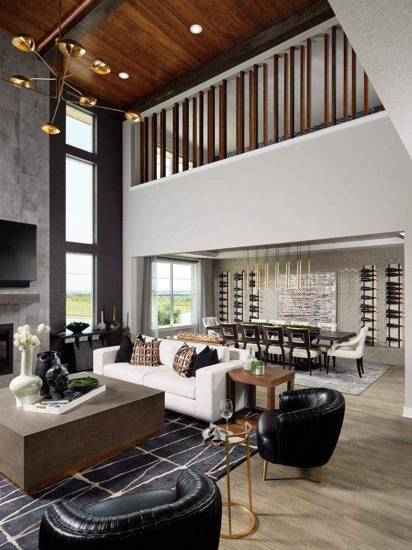 Shavano open concept home design