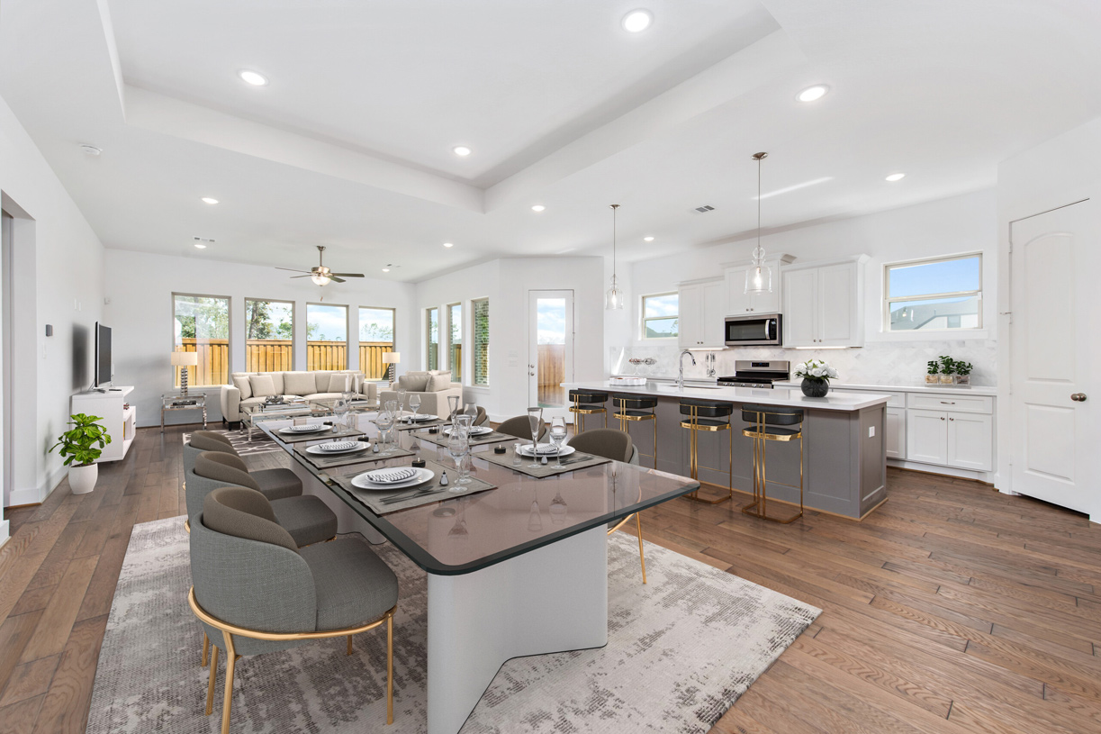 Lawson kitchen and great room - Representative photo