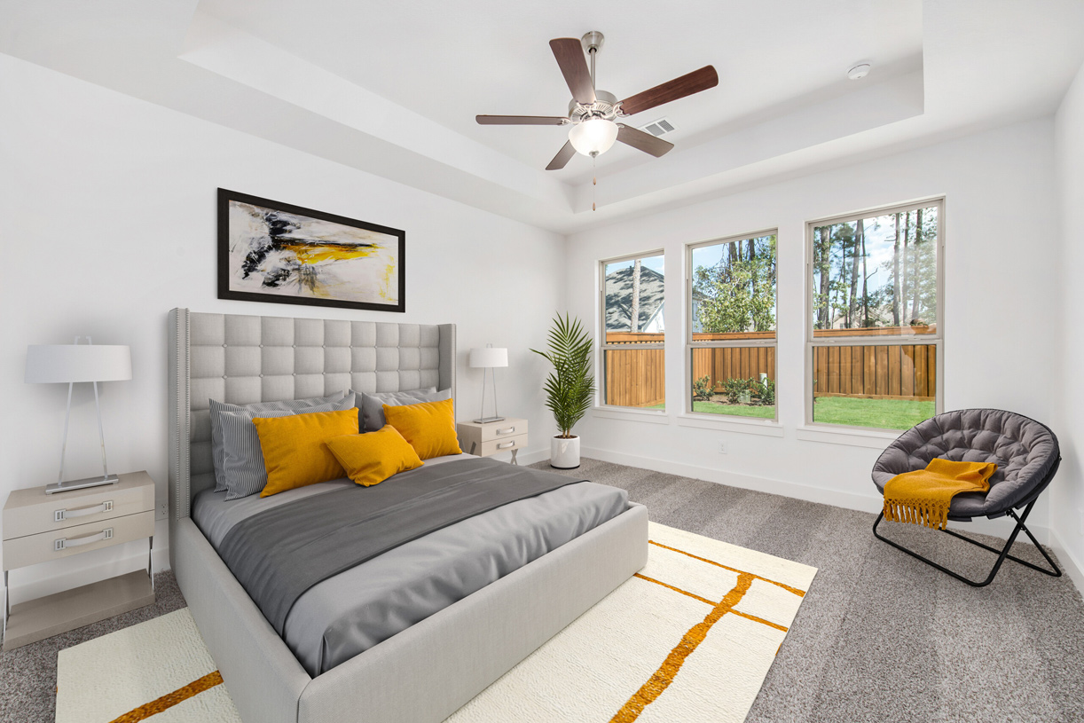 Lawson primary bedroom - Representative photo