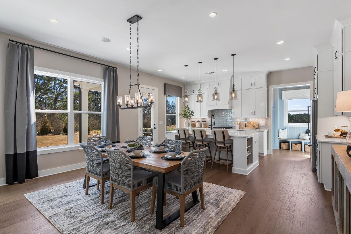 Desirable open-concept home design